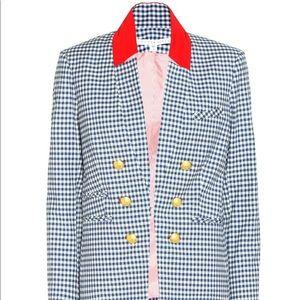 Veronica Beard Cottage Gingham Blazer Jacket $600